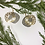 Thumbnail: Silver and Gold Hanging Earrings