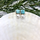 Thumbnail: Turquoise Marble and Pearl Stud