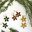 Thumbnail: Enamel Flower Earrings