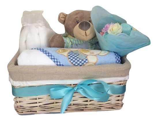 Gerry's basket - Rompers & Towels