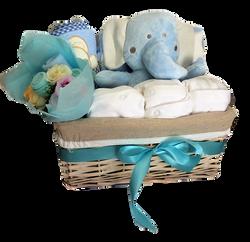 Elephant hamper basket