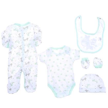 5 pieces Snugzeez baby clothing set