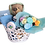 Thumbnail: Sleepy teddy in white basket