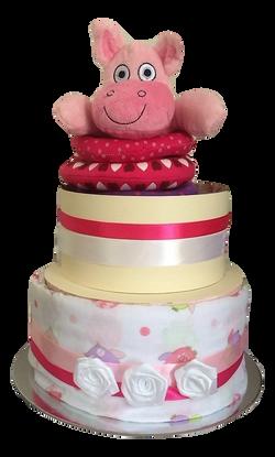 Girls 2 tier hippo stacker