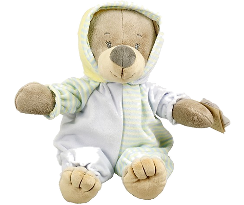 Blue bear with sleepsuits