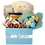 Thumbnail: White Teddy bear with bouquet