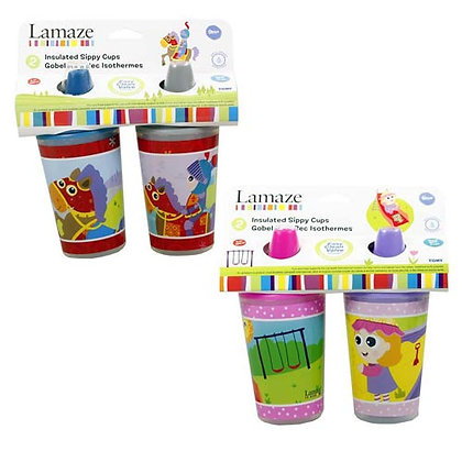 Lamaze 2 pack sippy cups