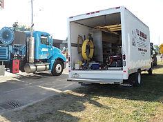 Cube Van with Equipment