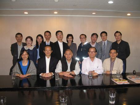 Visiting HKET (香港經濟日報)