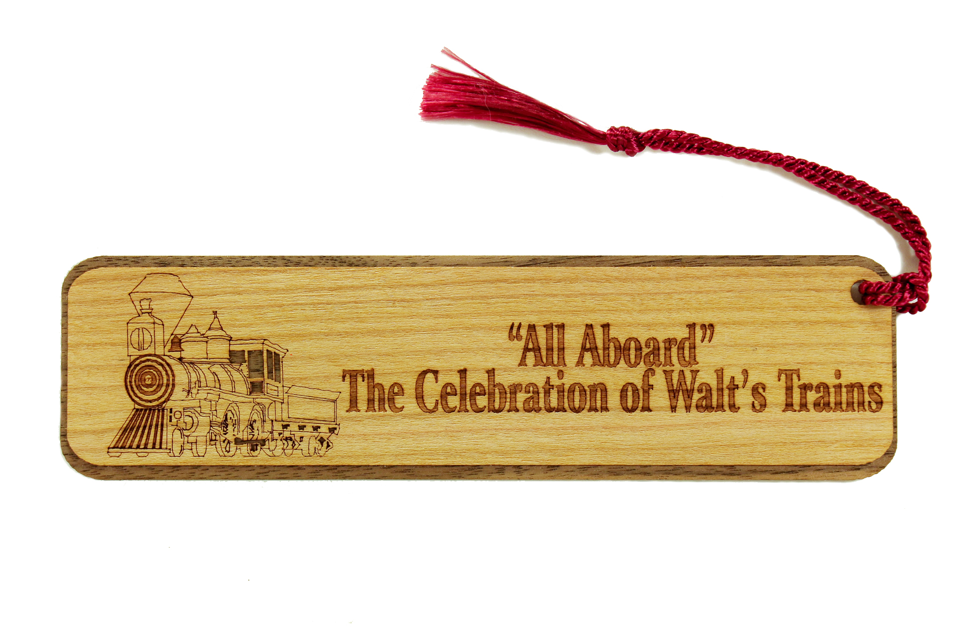 Walt Disney Trains Bookmark