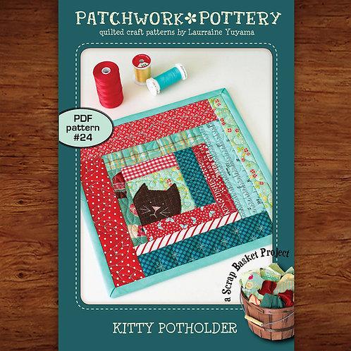 Kitty Potholder
