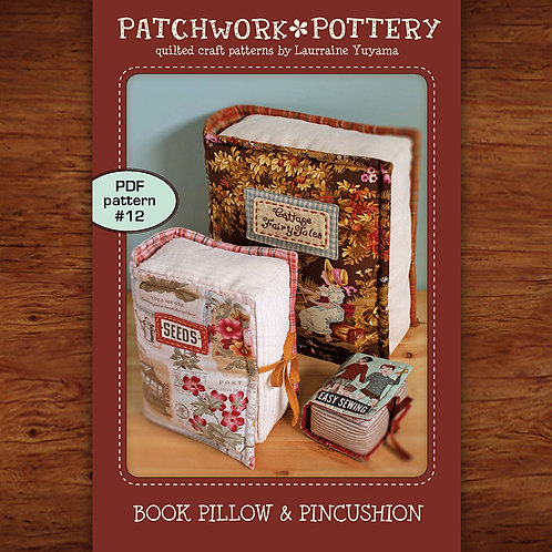 Book Pillow & Pincushion
