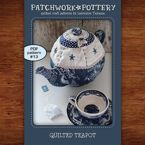 Quilted Teapot
