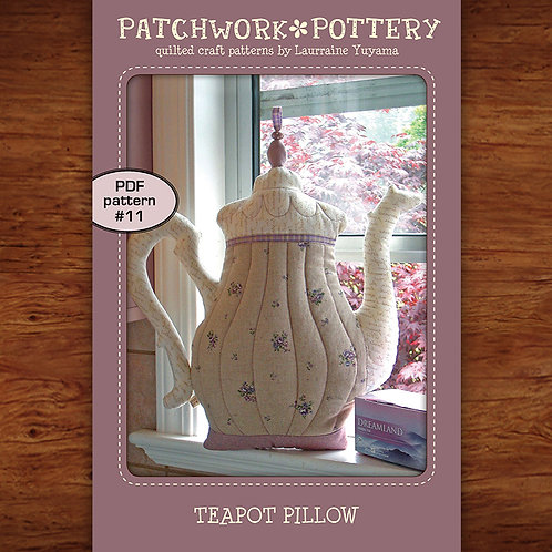 Teapot Pillow