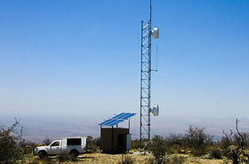 Communications high site Namibia