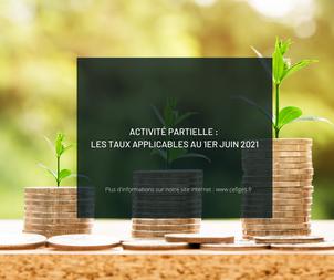 Activité partielle : les taux applicables au 1er juin 2021