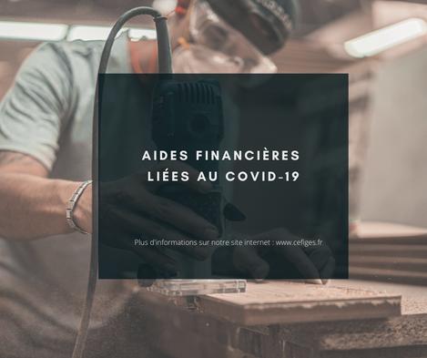 Aides financières liées au COVID-19