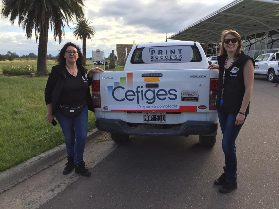 Cefiges au Trophée Roses des Andes