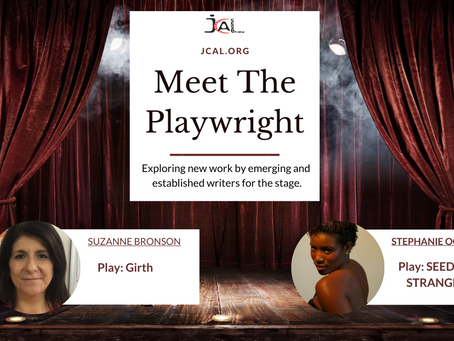 """Here's all the info you need for our upcoming """"Meet the Playwright Event"""