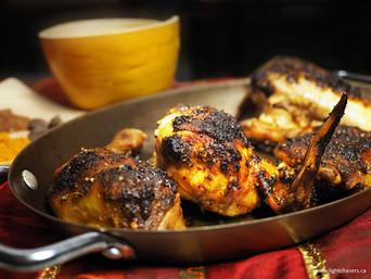 INDIAN INSPIRED DRY RUB CHICKEN