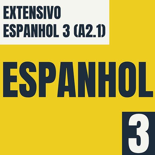 Espanhol 3 (A2.1)