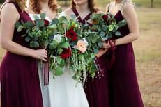 Wedding bridal party Frisco Texas