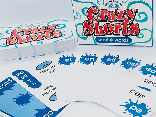 DOWNLOAD SHORT e Deck to Print, Cut, & Play!