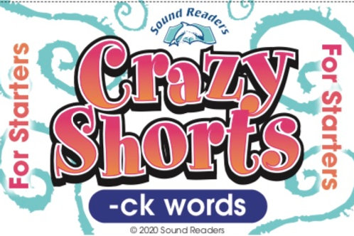 "-ck words- ""Crazy Cards for Starters"" series"