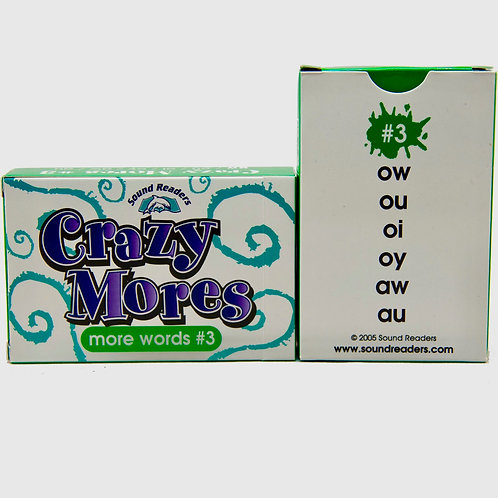 DOWNLOAD Crazy Mores Deck #3 to Print, Cut & Play!