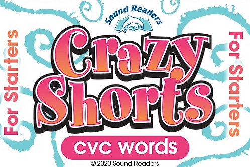 """CVC words - """"Crazy Shorts for Starters"""""""