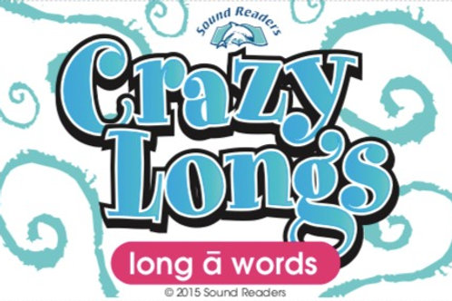 DOWNLOAD Crazy LONG a to Print, Cut & Play!