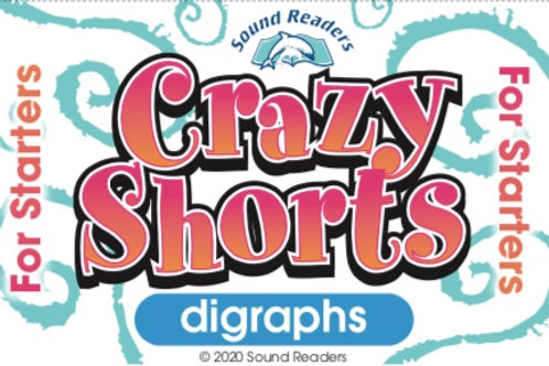"digraphs -""Crazy Cards for Starters"" series"