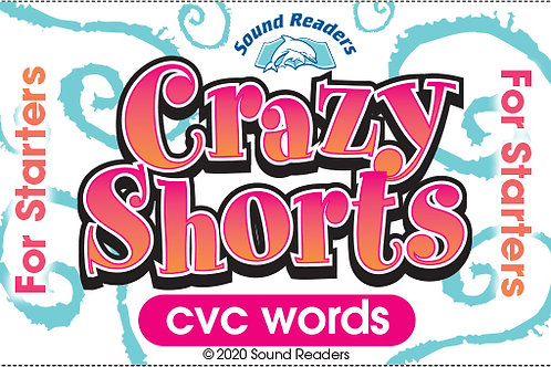 """cvc words """"Crazy Cards for Starters"""" series"""