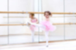 Little ballerina girl in a pink tutu. Ad