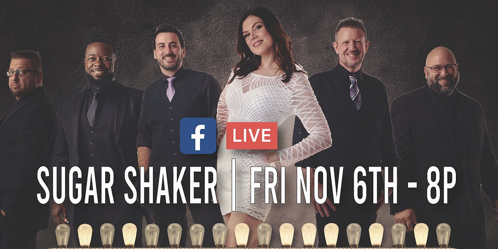 FRIDAY NOV 6 - Sugar Shaker - Mid-City Lanes Rock N Bowl Live Stream
