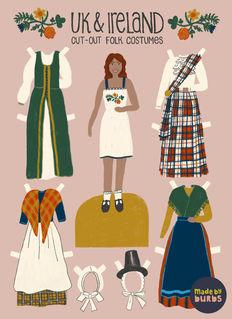 Folk Costume Editorial