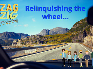 Can Dad Relinquish the Wheel?  Teaching through Lack of Self Control