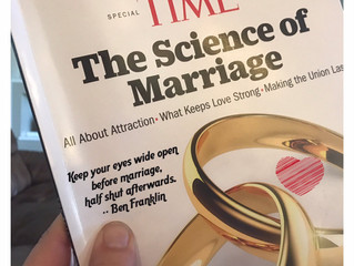 The Science of Marriage: The kid effect, divorce proofing and eyes half shut