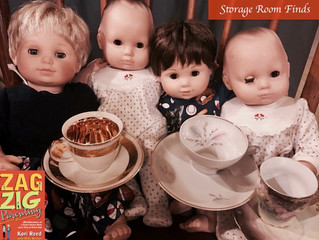 The Modern Dad's Cleanse:  Basement Storage, Baby Dolls and Tea Cups