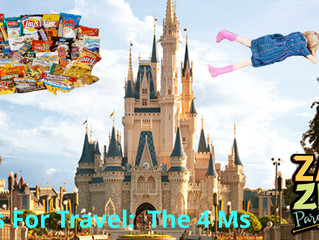 Tips for Trips: Mickey Mouse, Meltdowns, MMM's and M&Ms