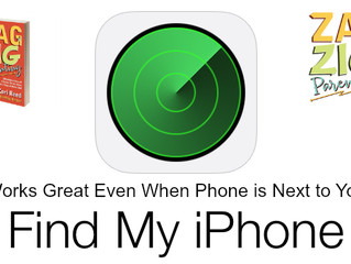 Find My iPhone:  Less About Helicopter, More About Heart