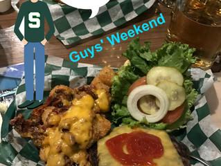 Buffalo wings, buddies, beers and burgers beckon boasting…and baggage