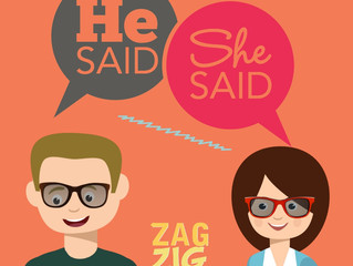 He Said, She Said: When Mom and Dad Disagree, Who Wins, Who Loses, and How We ZagZig Through