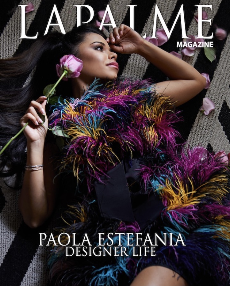 Paola Estefania For LaPalme Magazine