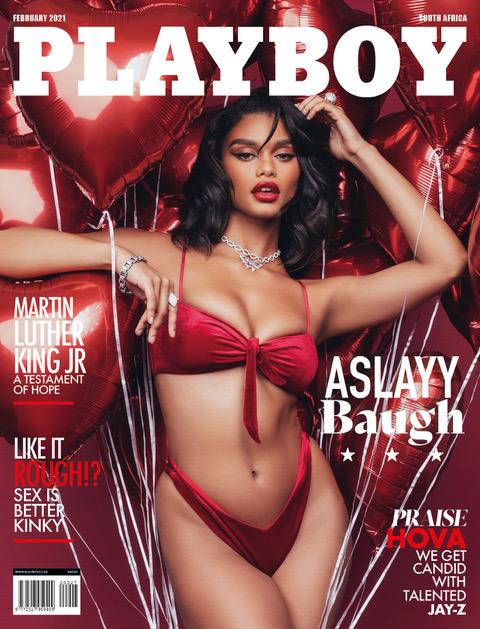 Aslayy Baugh For Playboy