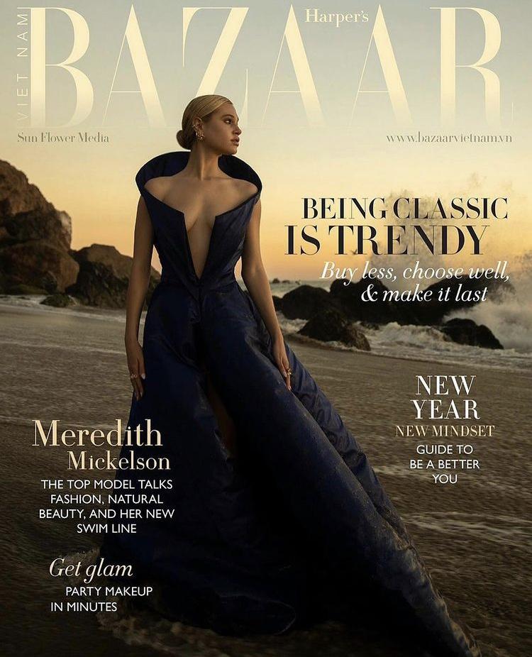 Meredith Mickelson For Harper's Bazaar Vietnam