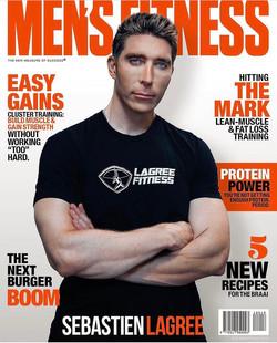 Sebastien Lagree For Men's Fitness