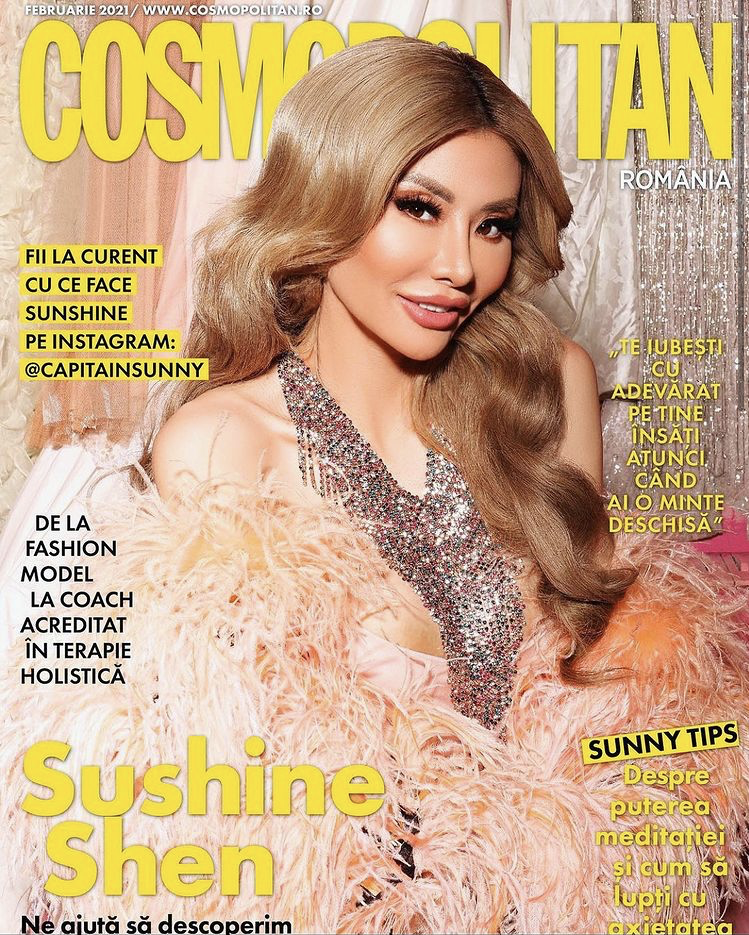 Sunshine Shen For Cosmopolitan Romania