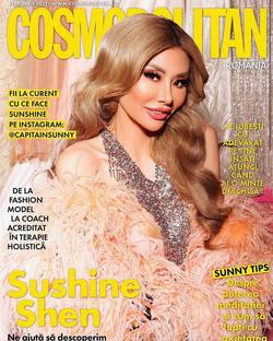 Sunshine Shen For Cosmopolitan Romania