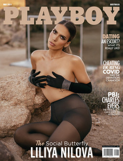 Liliya Nilova For Playboy Australia